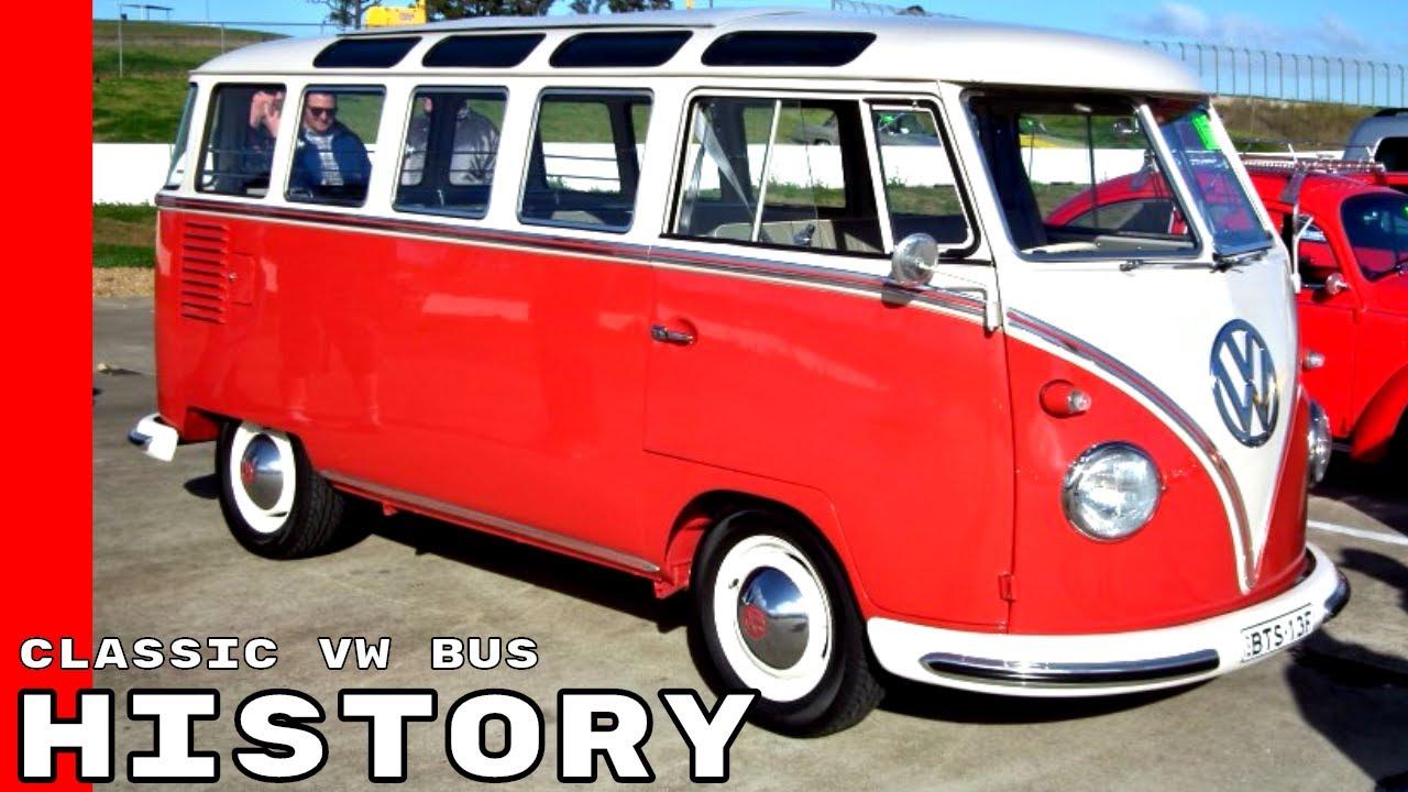 classic vw bus history
