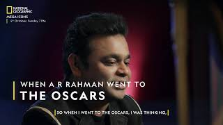 When A R Rahman Went To The Oscars | Mega Icons | National Geographic
