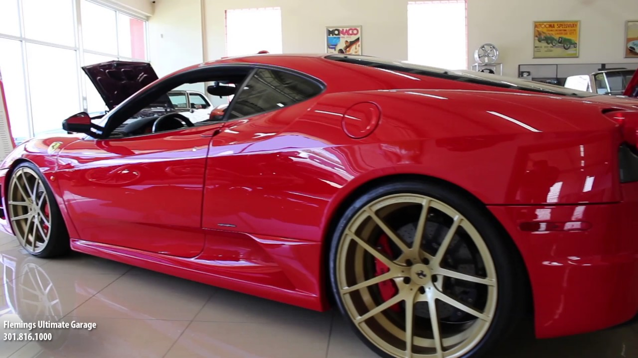 09 Ferrari F430 Scuderia For Sale With Test Drive Driving Sounds And Walk Through Video