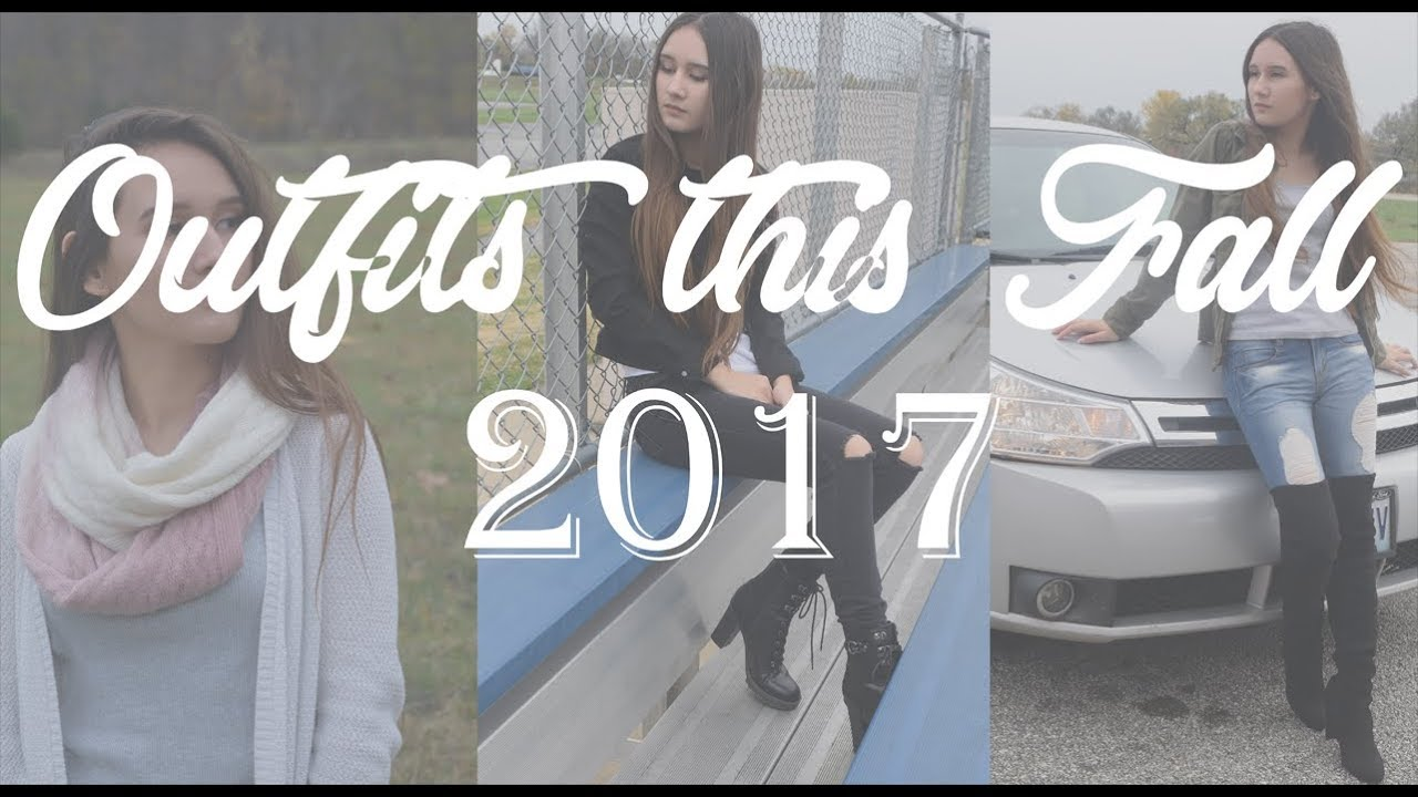 [VIDEO] - Fall Outfit Ideas 2017 6