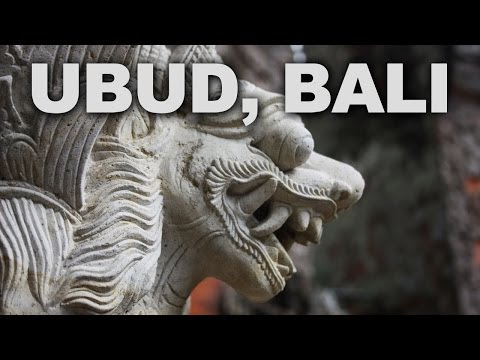 Ubud, Bali's Major Arts and Culture Centre