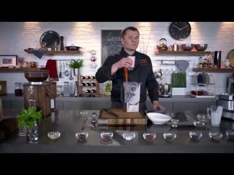 Рецепт клубничного смузи в блендере BORK B800 от Дениса Никифорова