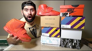 7 NEW SNEAKER PICK UPS 🔥*NEW RED OCTOBERS +SURPRISE FROM JUMPMAN*