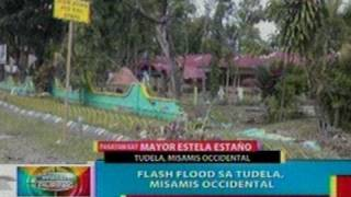 BP: Flash flood sa Tudela, Misamis   Occidental