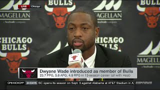 Dwyane Wade - Full Introductory Press Conference with Chicago Bulls | July 29, 2016