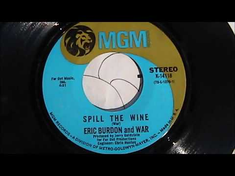 Eric Burdon  War Spill The Wine  'Original Record Release'