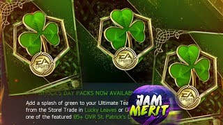10 MILLION+ COIN PACK OPENING | St Patrick's Day Event | FIFA Mobile