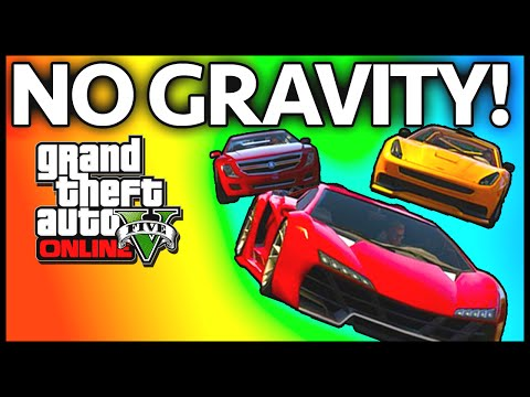 GTA 5: ANTI GRAVITY! GTA 5 BEST Races Online Xbox & PS3 (GTA V Online)