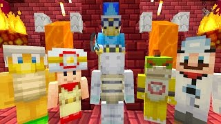 Minecraft Wii U - Nintendo Fun House - Bowser Jr