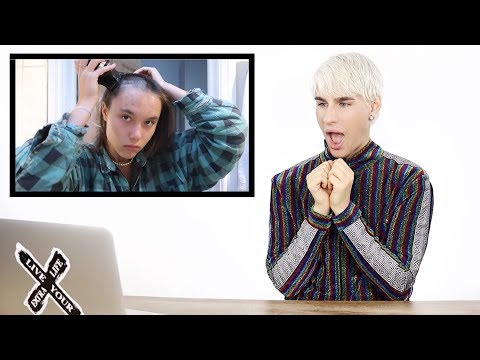 HAIRDRESSER REACTS TO GIRLS SHAVING THEIR HEADS!