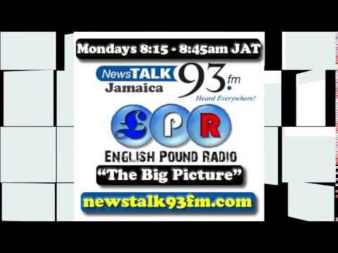 News Talk 93 FM (Jamaica) and  English Pound Radio - Topic: Contributing Back Home