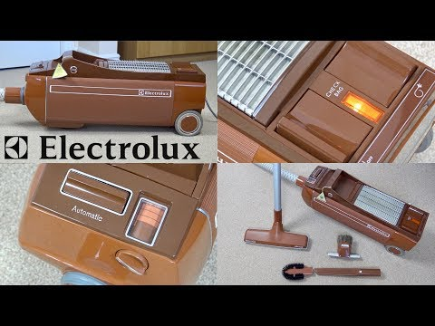 Back To The 70's With The Electrolux Automatic 345 Vacuum Cleaner
