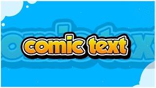 Tutorial: Comic Text (Photoshop CC) - Behr