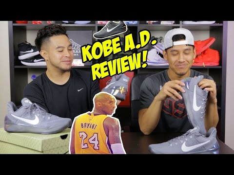 NIKE KOBE AD PERFORMANCE REVIEW + IN GAME FOOTAGE!