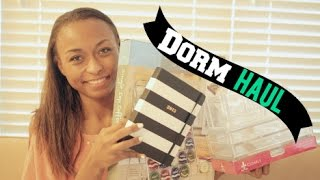 Back To School: College Dorm Room Haul 2014 (part 2)