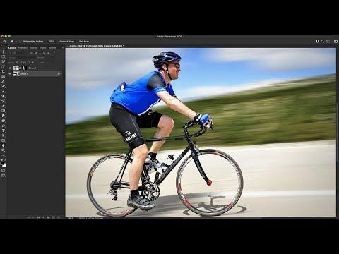 Effet de filet de vitesse avec Photoshop