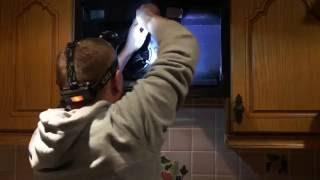 Kitchen hood fan. D.I.Y. How fix fan motor if not rotate.Кухня .вытяжка.вентилятор