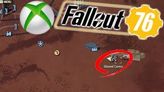 SOMETHING HAPPENED DOWN HERE! GLASSED CAVERN LOCATION! | FALLOUT 76 (XBOX ONE) | #23 |