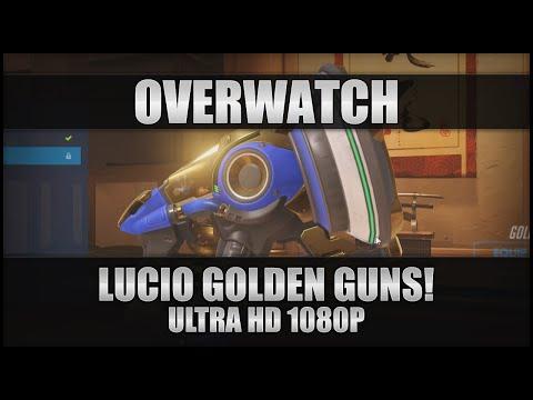 ♕ Overwatch - Lucio Golden Guns! - PC Ultra 1080p 60FPS