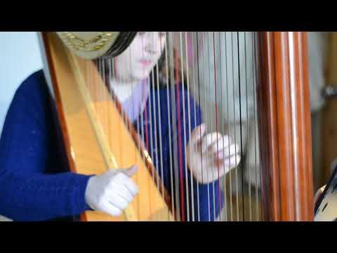 The Gift of Mortality, James Horner (Harp Solo, Rehearsal Draft) - Sam Hickman, Singing Harpist