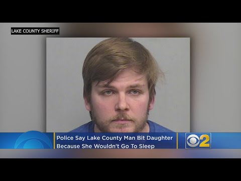 Mick Lee - Lake County Police Say Man Bit Baby Because She Wouldn't Fall Asleep