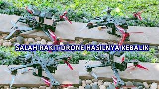 Drone Rakitan Udah Bener Malah Di Aneh2hin xD
