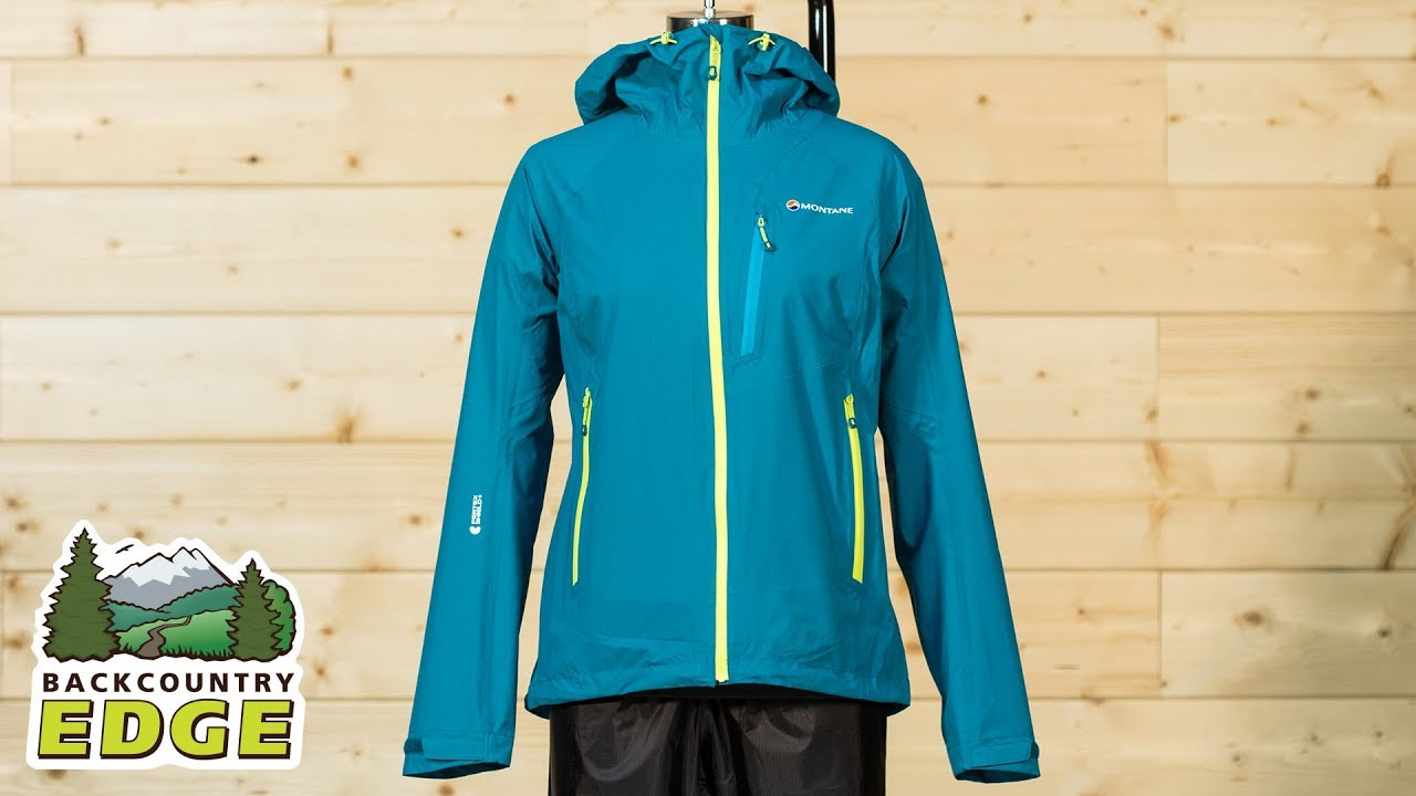 Montane Mens Minimus Stretch Jacket Top Red Sports Outdoors Full Zip Hooded