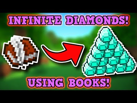 Minecraft Is A Perfectly Balanced Game With No Exploits - BOOKS = UNLIMITED DIAMONDS