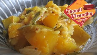 Mangai pachadi in tamil - mango toor dal pachadi recipe for curd rice