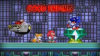 I Saved Everyone! | Sonic.EXE: Dark Souls (Good Ending)