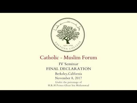 Catholic - Muslim Forum IV Seminar Declaration [FULL]