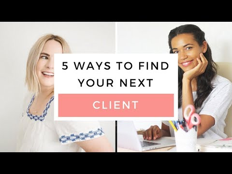 5 Ways To Find Your Next Graphic Design Client