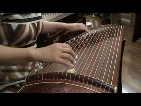 """Dunhuang 694F-MH Guzheng """"Eternal Jade"""""""