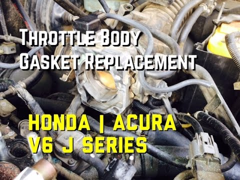 Honda Accord V6 Throttle Gasket J Series Acura Odyssey Pilot ...