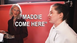 Maddie being Jeffree Stars iconic assistant for two minutes straight