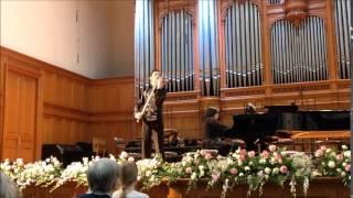 """CMS 80 years festival"" Vieuxtemps Rondino - Islyamov Ravil, Sholpan Barlykova"