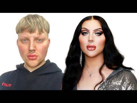 NYE GLAM DRAG TRANSFORMATION || ELLIS ATLANTIS