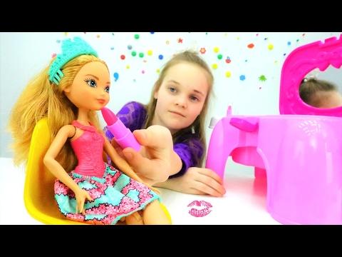 #Куклы Эвер Афтер Хай в Школе Волшебства 🐸 Превращаем лягушку в принца! Игрушки и Игры для Девочек