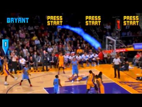 Kobe Bryant in NBA JAM — BRICKSHAKALAKA!