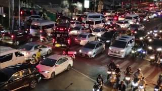 曼谷第二大紅燈區阿索克站傍晚日常