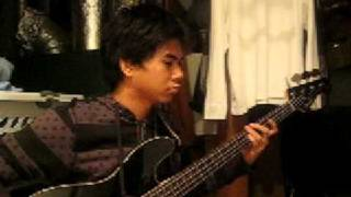 bass cover of the back horn's seimeisen..nice song.nice band.good b...