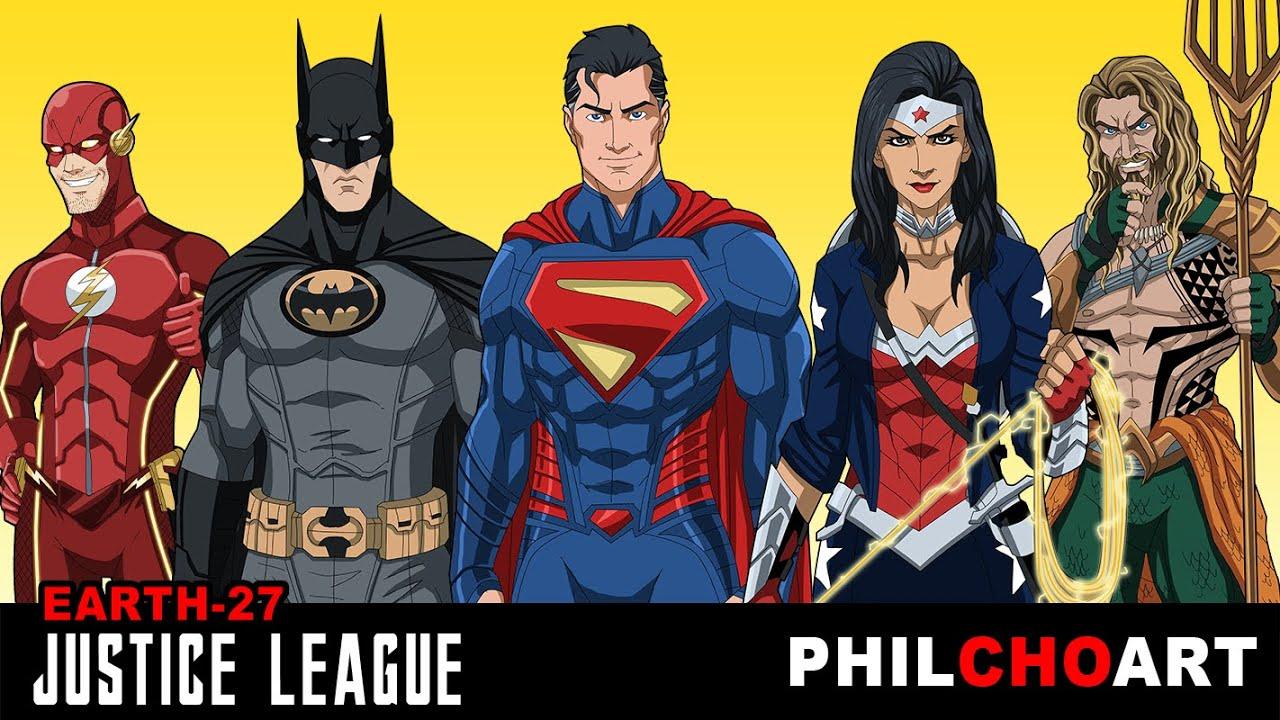 Earth-27 Justice League
