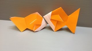 Daily Origami: 022 - Goldfish