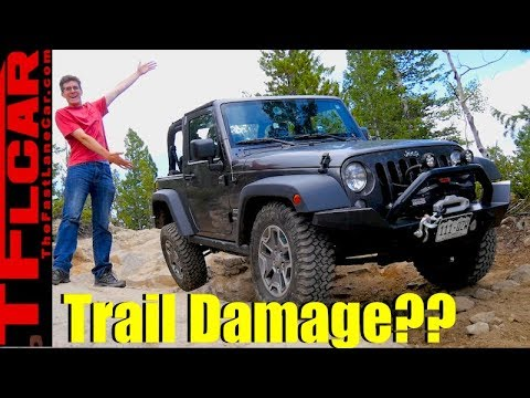Tall Rocks, Low Jeep: Here's How a Stock Wrangler Takes on a Hard Trail