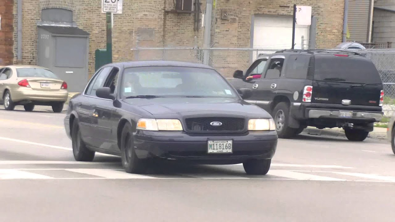Chicago Police Department Unmarked Car Responding Youtube