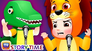 The Recycled Dinosaur - ChuChu TV Storytime Good Habits Bedtime Stories for Kids