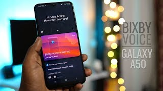 Galaxy A50 Bixby Voice Commands demo in |Hindi|