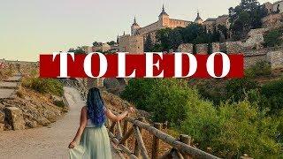 Vlog de viagem de TOLEDO na ESPANHA | Eurotrip de verão | Júlia Orige
