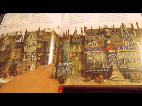 Harry Potter and the Sorcerer's Stone Illustrated Edition Flip Through