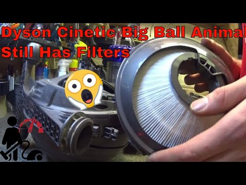 Dyson Cinetic big ball animal Still  has filters clogged and need to be changed!